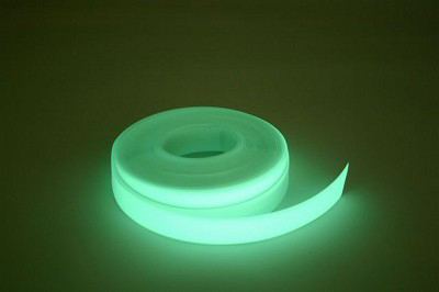 Glow in the dark hand rail cover